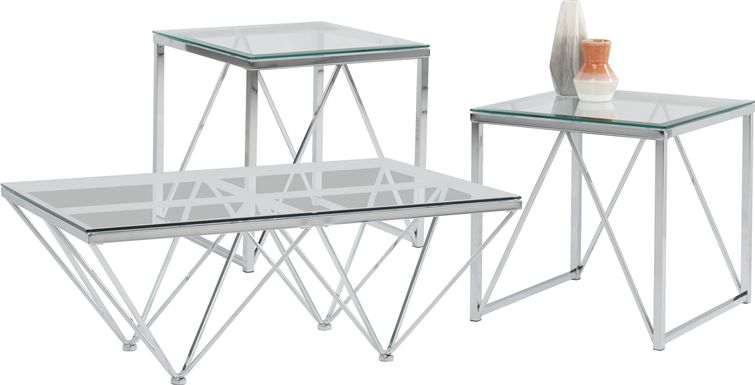 Johannah Gray 3 Pc Table Set