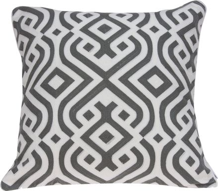 Jonita Gray Accent Pillow