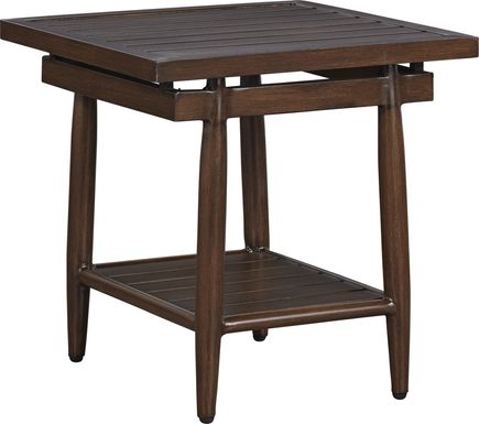 Jorgen Bronze Outdoor Side Table
