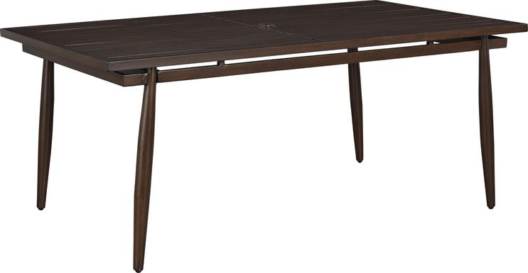 Jorgen Bronze Rectangle Outdoor Dining Table