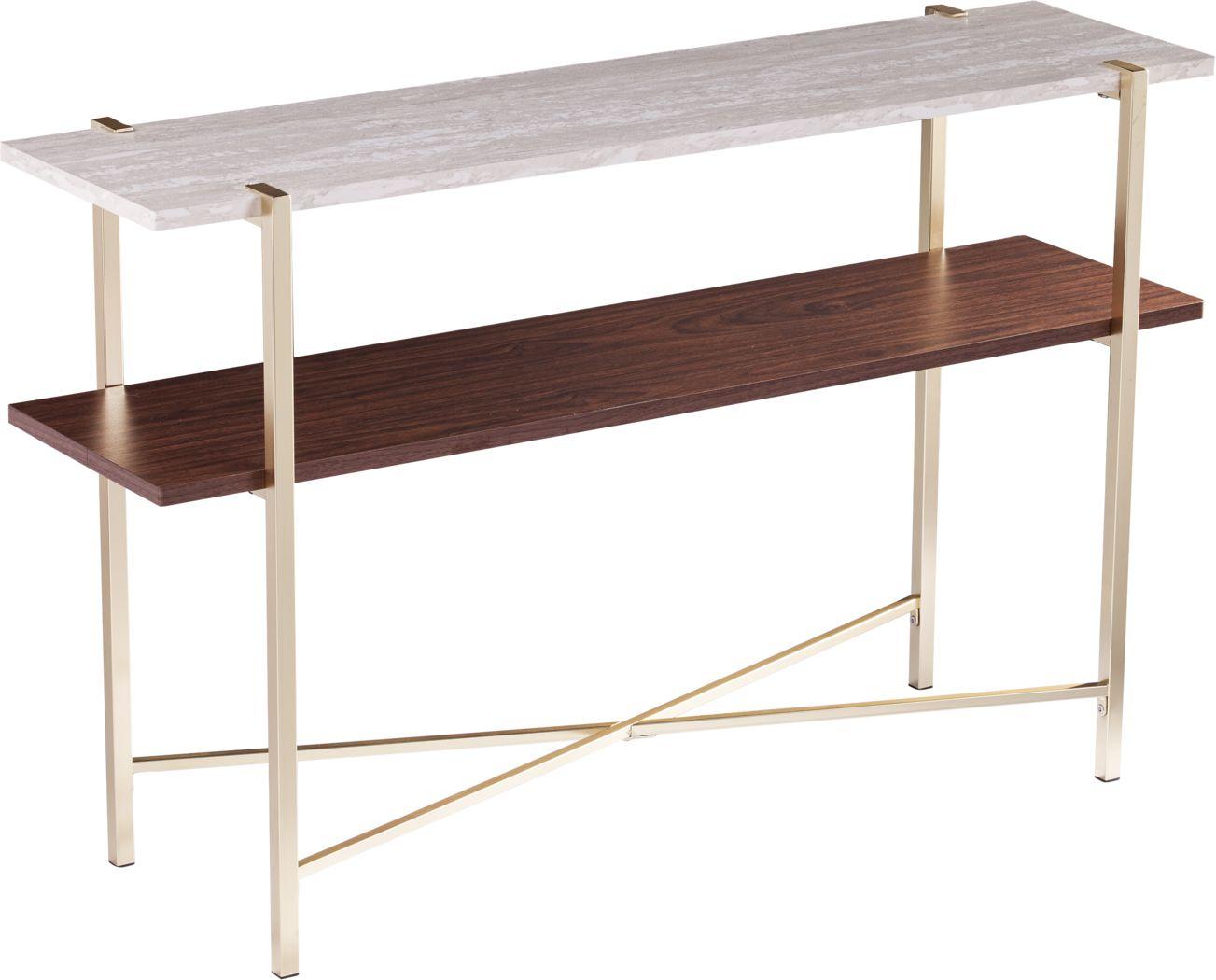 Journeyville White Sofa Table