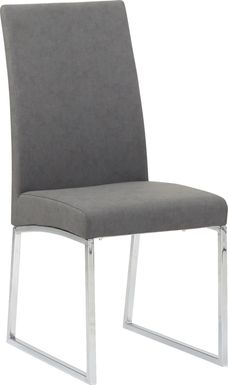 Jules Charcoal Side Chair