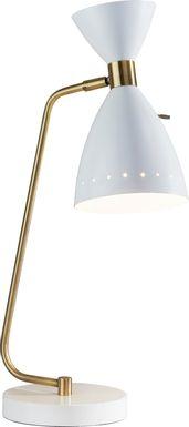 Jules Drive White Lamp