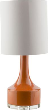 Jules Grove Orange Lamp