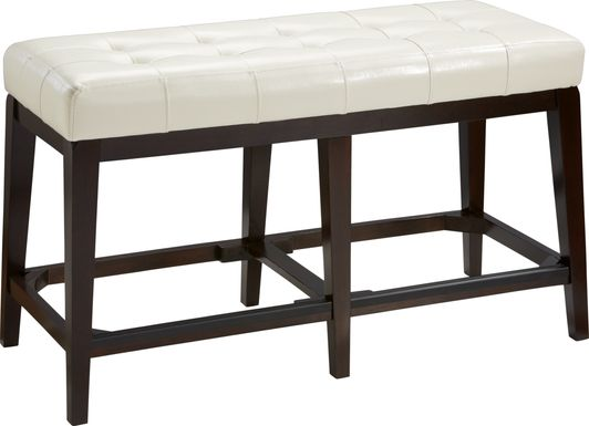 Julian Place Vanilla Counter Height Bench