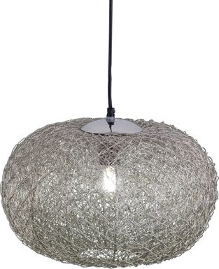 Juliette Avenue Silver Chandelier