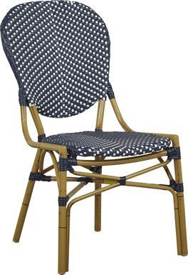 Juliette Blue Outdoor Side Chair