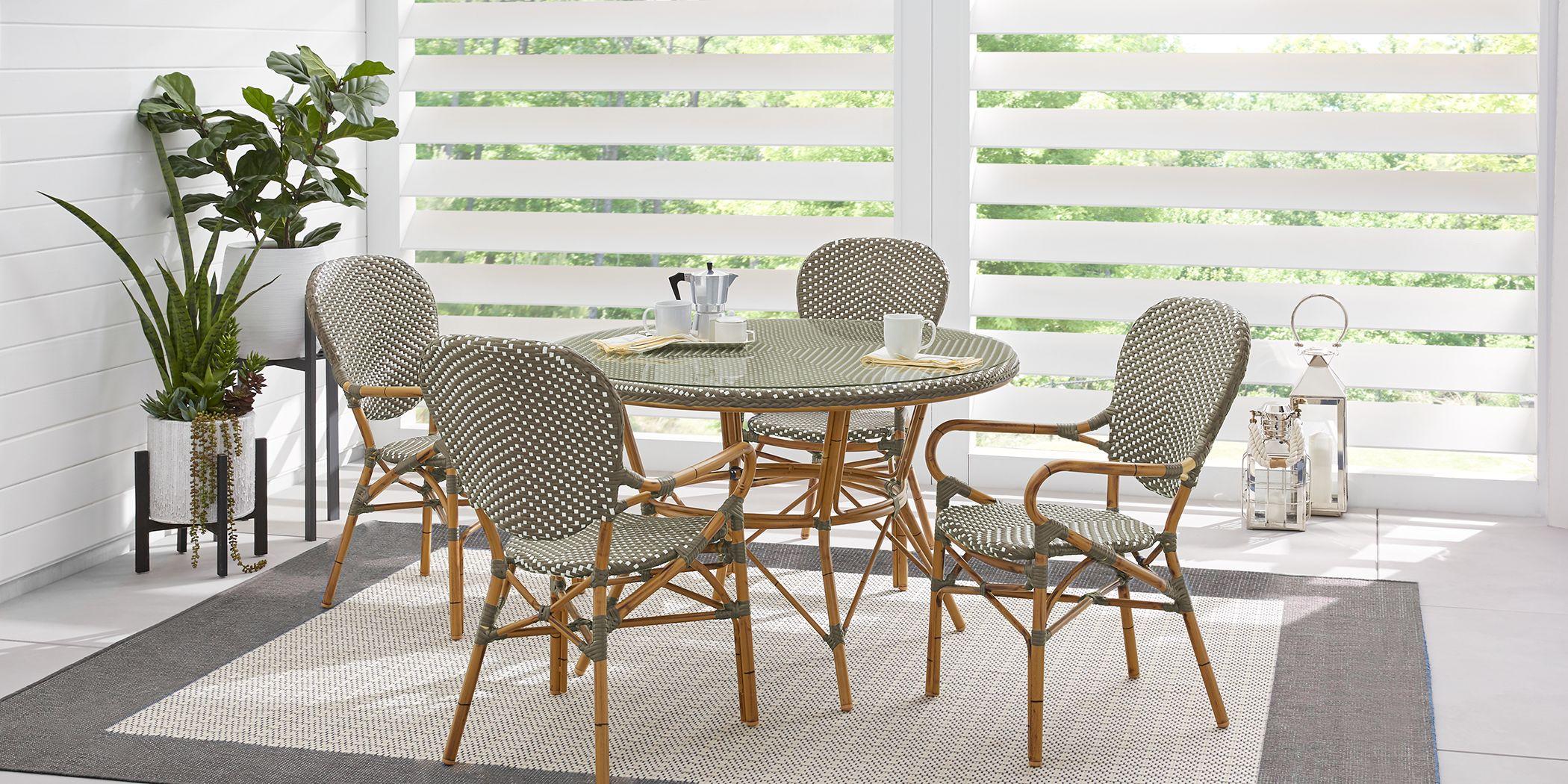 Juliette Gray 5 Pc Outdoor Dining Set