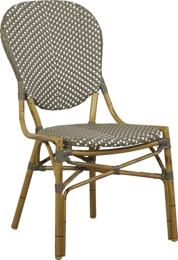 Juliette Gray Outdoor Side Chair
