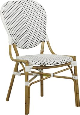 Juliette White Outdoor Side Chair