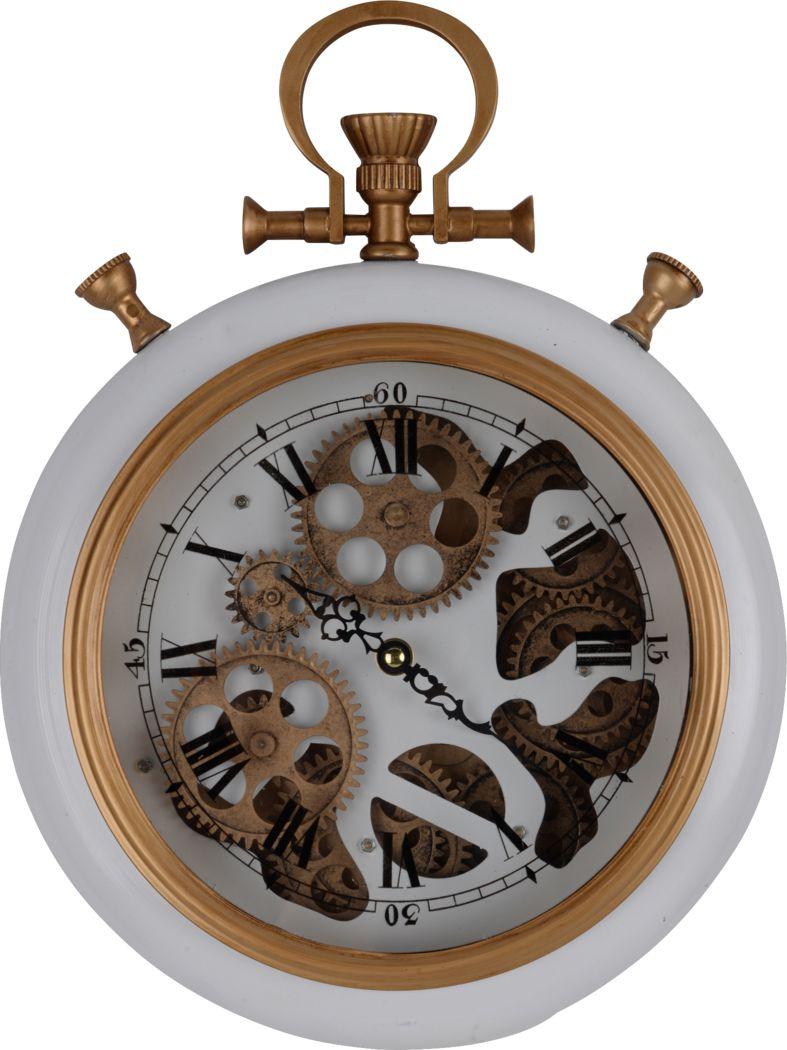 Justamere White Clock