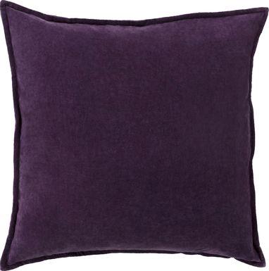 Kaden I Dark Purple Accent Pillow