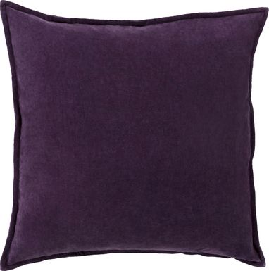 Kaden II Dark Purple Accent Pillow