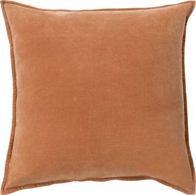 Kaden Orange Accent Pillow