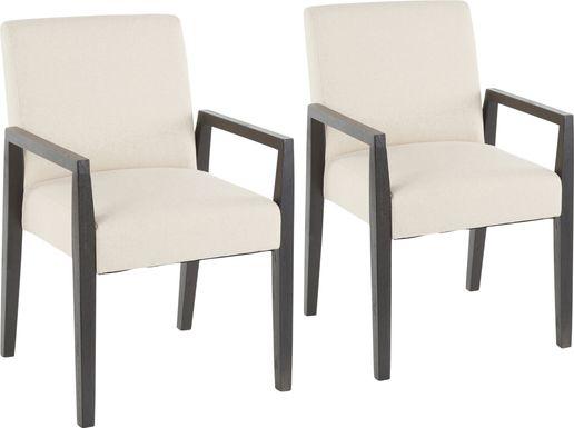 Kadleston Beige Arm Chair, Set of 2