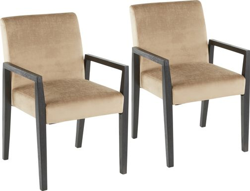 Kadleston Brown Arm Chair, Set of 2