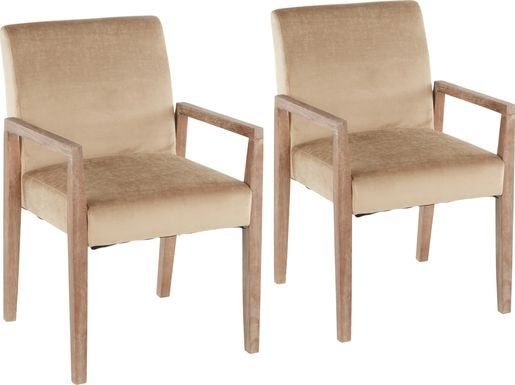Kadleston II Brown Arm Chair, Set of 2
