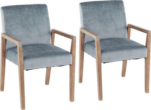 Kadleston II Ocean Arm Chair, Set of 2