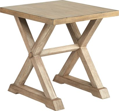 Kalani Brown End Table
