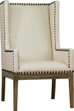 Kalden Beige Accent Chair