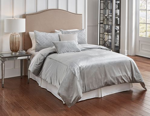 Kammie Gray 5 Pc King Comforter Set
