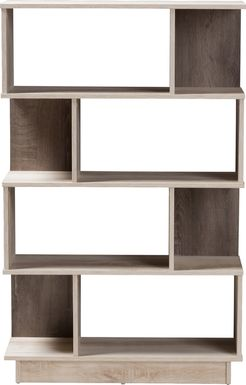 Karea Brown Bookcase