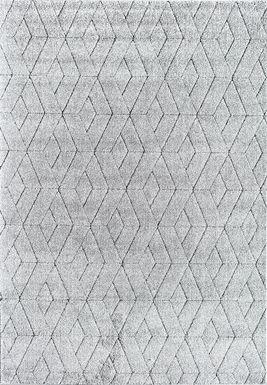 CosmoLiving By Cosmopolitan Karelle Gray 8' x 10' Rug