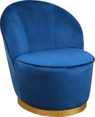 Karleen Blue Accent Chair