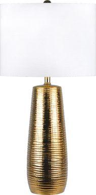 Katrinka Gold Lamp