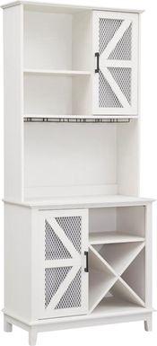 Kazia White Bar Cabinet