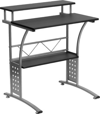 Keagon Black Desk