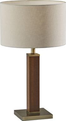 Kearns Cove Brass Lamp