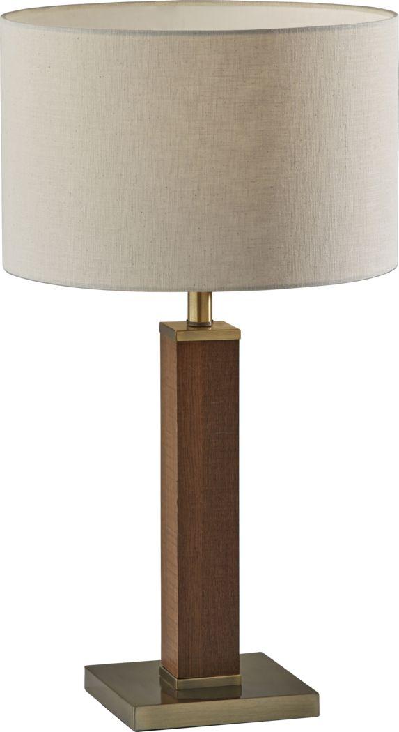 Kearns Cove Brass Lamp
