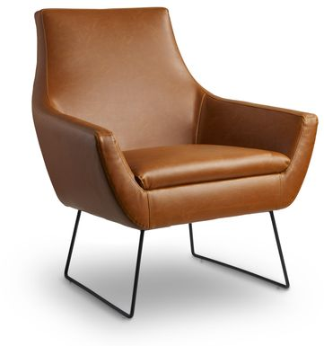 Keckler Brown Accent Chair