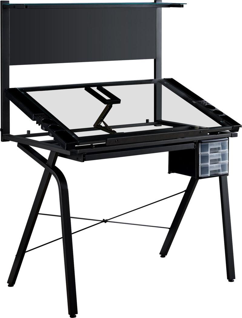 Keeton Black Desk