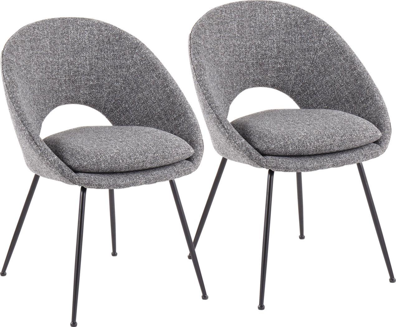 Kelann II Gray Dining Chair, Set of 2