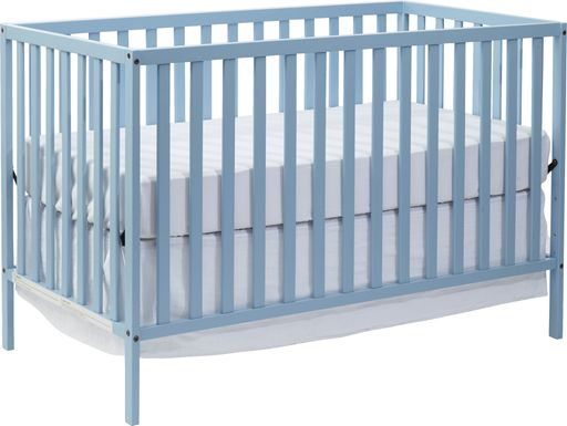 Kelby Cove Blue Convertible Crib