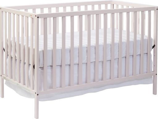 Kelby Cove Pink Convertible Crib