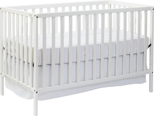 Kelby Cove White Convertible Crib