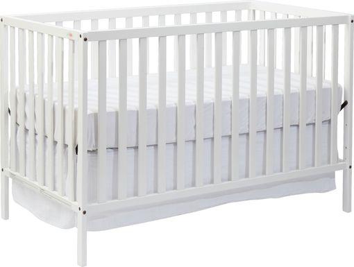 Kelby Cove White Convertible Crib