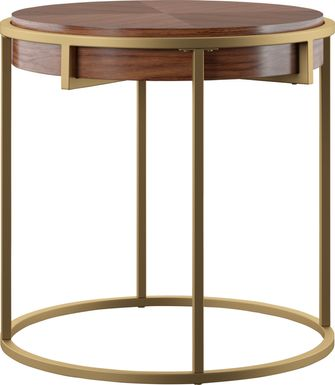 Kelloch Brown End Table