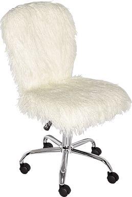 Kellow White Office Chair