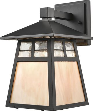 Kempton Black Outdoor Wall Sconce