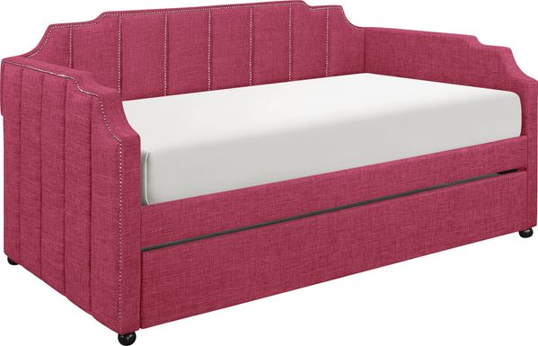 Kennis Pink Daybed with Trundle