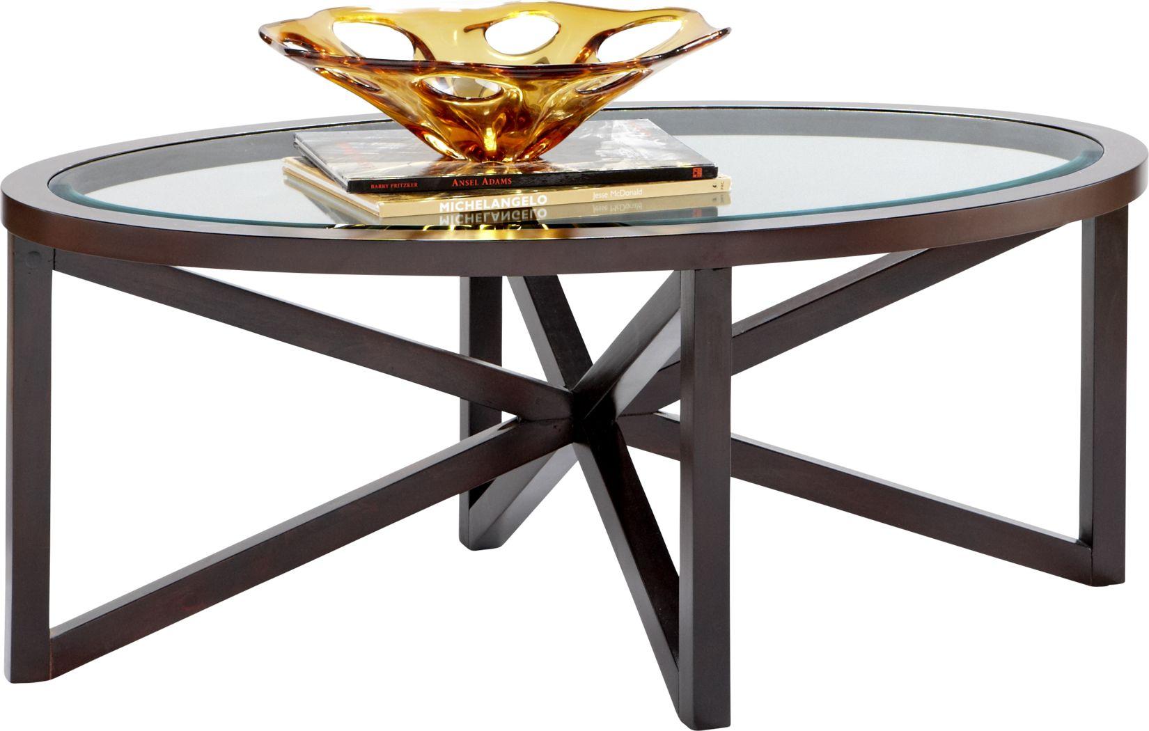 Kenshaw II Espresso Cocktail Table