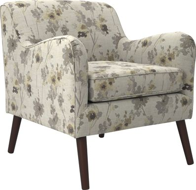 Kenvil Beige Accent Chair