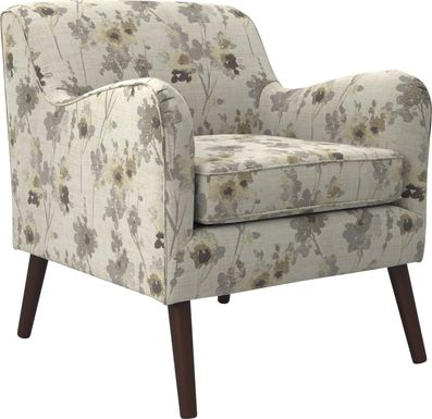 Kenvil Beige Accent Chair
