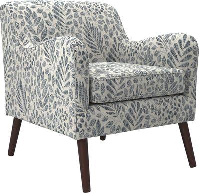 Kenvil Blue Accent Chair