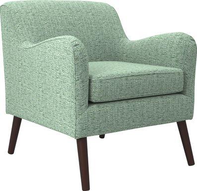 Kenvil Green Accent Chair
