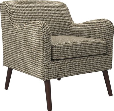 Kenvil Taupe Accent Chair